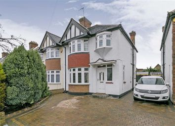 Thumbnail 3 bed semi-detached house for sale in River Way, Ewell Court, Surrey