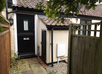 Thumbnail 1 bed terraced house for sale in Wymondham, Norfolk