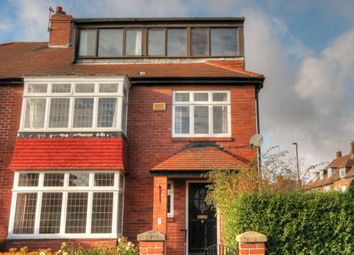 Thumbnail 5 bed semi-detached house for sale in Fowberry Crescent, Fenham, Newcastle Upon Tyne