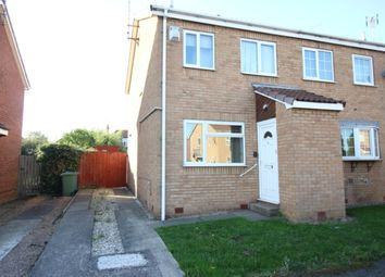 Thumbnail 2 bed property for sale in Gateford Glade, Worksop