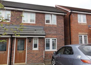 Thumbnail 3 bed semi-detached house to rent in Beldon Drive, South Moor, Stanley