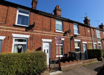 Thumbnail 2 bedroom terraced house for sale in The Street, Bramford, Ipswich