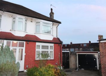 Thumbnail 3 bed end terrace house to rent in Ecclesbourne Gardens, Palmers Green, London