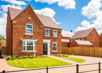 "Thumbnail 4 bed detached house for sale in ""Holden"" at Atherstone Road, Measham, Swadlincote"