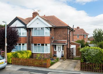 Thumbnail 3 bed semi-detached house for sale in Eastholme Drive, York