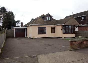 Thumbnail 4 bed detached bungalow for sale in Busseys Loke, Bradwell, Great Yarmouth