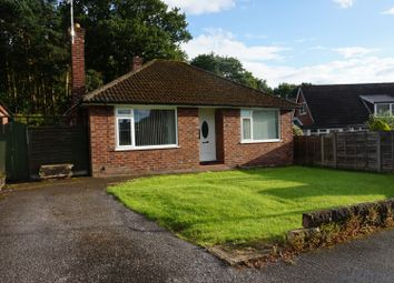 Thumbnail 2 bedroom detached bungalow for sale in Woodville Drive, Marple