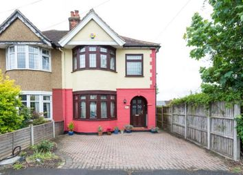 Thumbnail 4 bed semi-detached house for sale in Collier Row, Romford, Essex