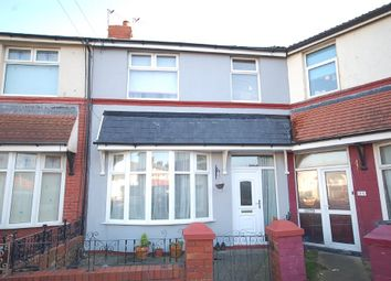 Thumbnail 3 bedroom terraced house for sale in The Crescent, Blackpool
