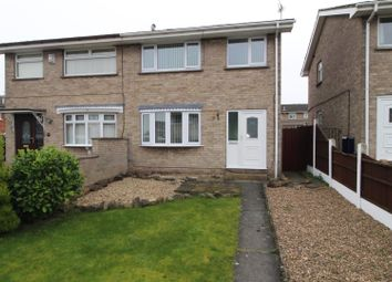 Thumbnail 3 bed semi-detached house for sale in Rochester Close, Worksop