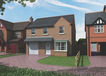 Thumbnail 4 bed detached house for sale in Kings Manor, Hoplands Road, Coningsby, Lincolnshire