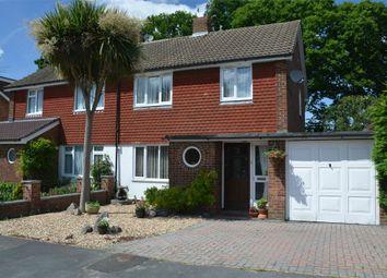 Thumbnail 3 bed semi-detached house for sale in Hazel Road, Mytchett, Surrey