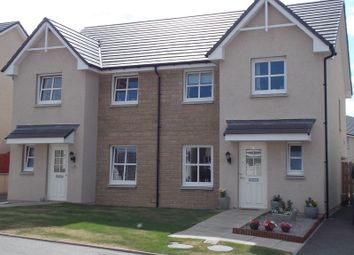 Thumbnail 3 bed semi-detached house for sale in Correen Way, Alford