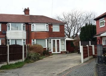 Thumbnail 3 bedroom semi-detached house for sale in Hinstock Crescent, Gorton, Manchester