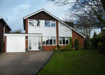 Thumbnail 4 bed detached house for sale in Gorstey Lea, Burntwood