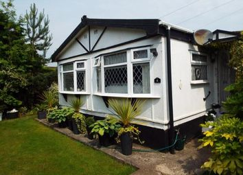 Thumbnail 2 bed bungalow for sale in Willow Close, Lindow Court Park, Mobberley, Knutsford
