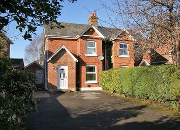 Thumbnail 3 bed semi-detached house for sale in Wimborne Road, Corfe Mullen, Wimborne