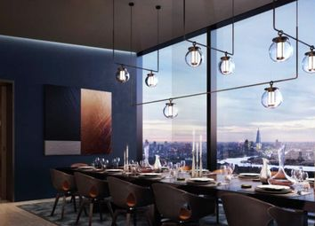 Thumbnail 1 bed flat for sale in Landmark Pinnacle, 10 Marsh Wall, Canary Wharf, London