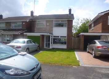 Thumbnail 3 bed detached house for sale in Sandringham Drive, Stockport