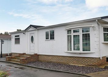 Thumbnail 2 bed mobile/park home for sale in Subrosa Park, Subrosa Drive, Merstham, Redhill