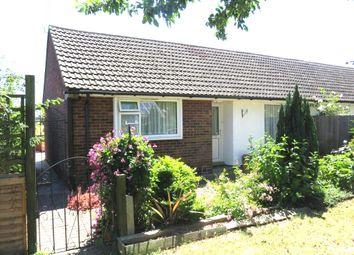 Thumbnail 2 bed semi-detached bungalow for sale in New Close, Litlington, Royston