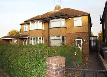 Thumbnail 3 bedroom semi-detached house for sale in Neville Road, Luton, Bedfordshire