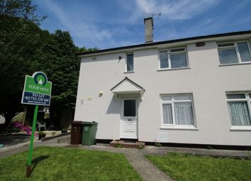 Thumbnail 2 bed flat to rent in Hardy Crescent, Plymouth