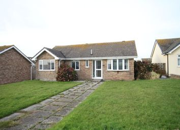 Thumbnail 3 bed detached bungalow for sale in Warwick Place, Tywyn