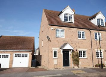 Thumbnail 4 bed semi-detached house for sale in The Furrow, Littleport, Ely