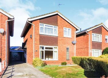 Thumbnail 3 bed detached house for sale in Popplechurch Drive, Swindon