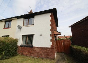 Thumbnail 2 bed semi-detached house for sale in Marina Crescent, Currock, Carlisle