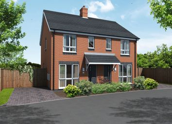 Thumbnail 2 bed semi-detached house for sale in Newton Lane, Austrey, Atherstone