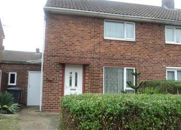 Thumbnail 2 bed semi-detached house to rent in Swaby Close, Lincoln