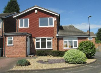 Thumbnail 3 bed detached house to rent in Lillington Close, Sutton Coldfield, West Midlands