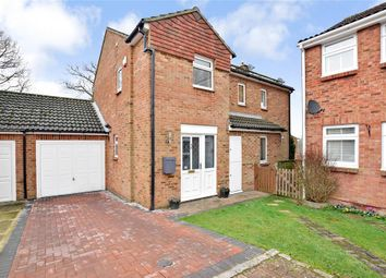 Thumbnail 4 bedroom link-detached house for sale in Locksley Close, Walderslade Woods, Chatham, Kent