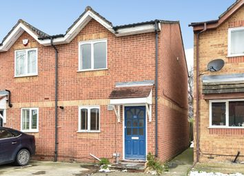 Thumbnail 2 bed end terrace house for sale in Brindley Close, Wembley