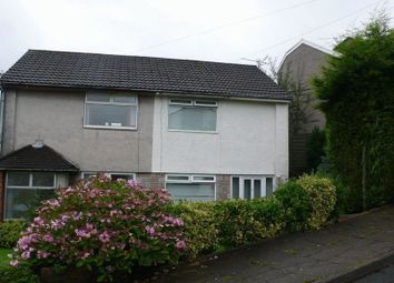 Thumbnail 2 bedroom semi-detached house to rent in Clos Gwent, Beddau