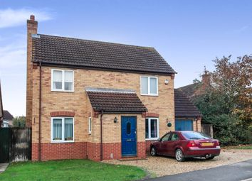 Thumbnail 3 bed detached house for sale in Truesdale Gardens, Langtoft, Peterborough