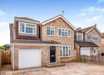 Thumbnail 4 bedroom detached house for sale in Hunters Close, York