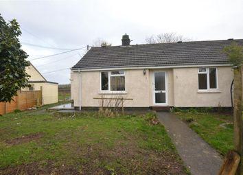 Thumbnail 2 bed semi-detached bungalow for sale in Park Close, Nancegollan, Helston, Cornwall