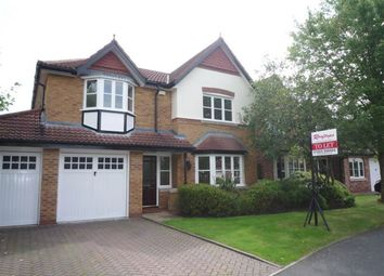 Thumbnail 4 bedroom detached house to rent in 8 Oakleigh, Eden Pk, Cheadle.