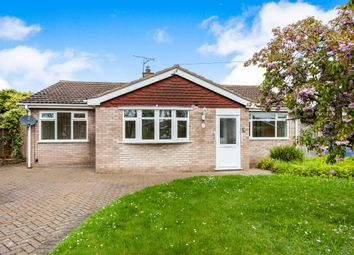 Thumbnail 3 bed detached bungalow for sale in College Road, Hockwold, Thetford