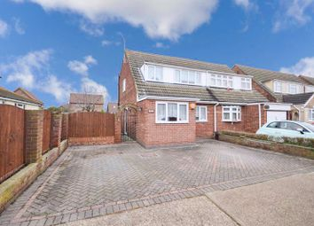 Thumbnail 3 bed semi-detached house for sale in Rodings Avenue, Stanford-Le-Hope