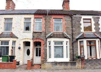 Thumbnail 2 bed terraced house for sale in Aldsworth Road, Canton, Cardiff