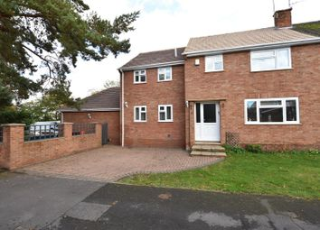Thumbnail 3 bed end terrace house for sale in Kentwood Close, Tilehurst, Reading