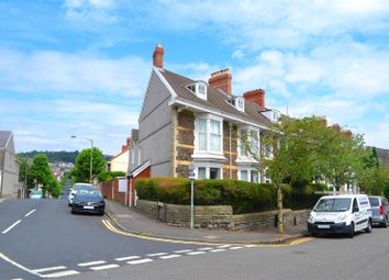 Thumbnail End terrace house for sale in St. Albans Road, Brynmill, Swansea