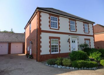 Thumbnail 4 bed detached house to rent in Pamber Drive, Fleet