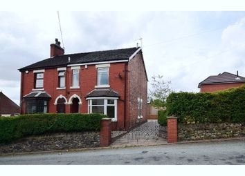 Thumbnail 3 bedroom semi-detached house for sale in Church Lane, Stoke-On-Trent