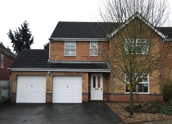 Thumbnail 4 bedroom detached house for sale in Vicarage Lane, Codnor Park