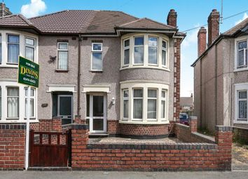 Thumbnail 3 bedroom semi-detached house for sale in Nuffield Road, Courthouse Green, Coventry, West Midlands